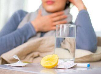 В Одесской области стали меньше болеть гриппом, но эпидпорог еще превышен