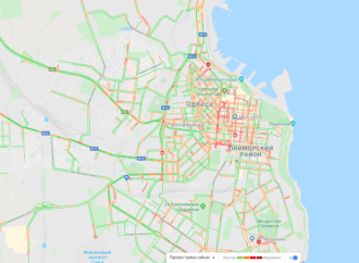 После дождя в Одессе образовались пробки: какие дороги лучше объехать