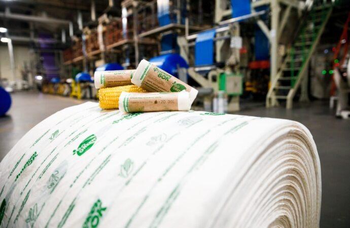 В Украине начали производить биоразлагаемые пакеты: вскоре они появятся и в Одессе