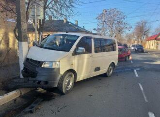 В Одесской области пострадала в аварии женщина
