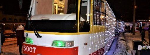 В Одессе состоится рождественский парад трамваев: маршрут