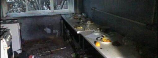 В Одессе задержали злоумышленника, устроившего взрыв в общежитии (видео)