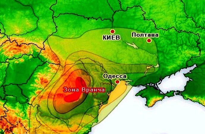 Ночью в Одессе и области было землетрясение