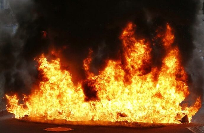 Пожар в частном секторе Одессы унес жизнь человека