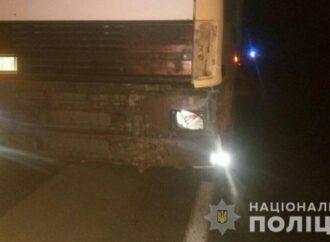 На трассе в Одесском регионе под колесами фуры погиб пешеход