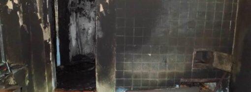 В Одесской области произошел пожар: есть погибший и постравший