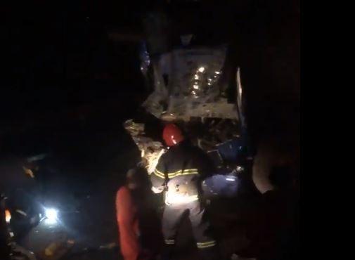 На трассе Одесса-Киев попал в аварию пассажирский автобус (фото, обновлено)