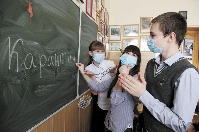 Из-за ОРВИ и гриппа одесские школьники проведут дома на неделю больше, чем планировалось