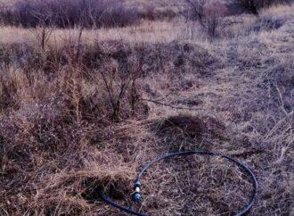 Поблизу кордону з Молдовою одеські митники виявили спиртопровід