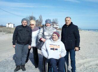 В курортном поселке под Одессой хотят обустроить пляж для людей с инвалидностью