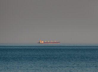 """В море близ Одессы засняли """"парящие"""" над водой корабли (фото)"""