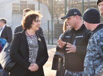 Посол Великої Британії в Одесі ознайомилася із перспективами розвитку національного флоту (фото, відео)