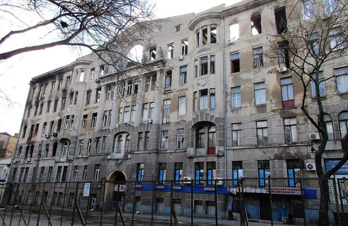 Спустя два месяца после одесской трагедии: о судьбе дома Асвадурова на Троицкой