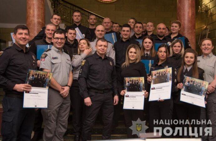 Як одеських поліцейських навчали колеги з Канади (фото)