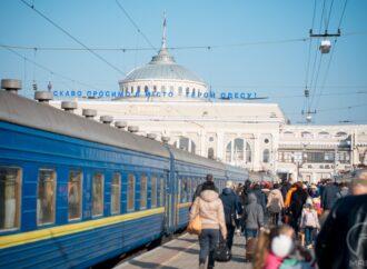 Сполучення Київ-Одеса потрапило у топ-5 найпопулярніших залізничних напрямків у 2019 році
