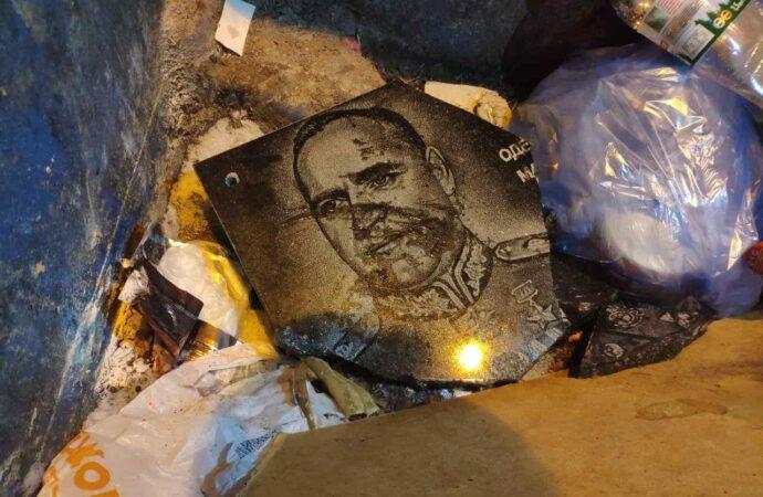 После сноса таблички маршалу Жукову в Одессе хотели установить новую, но не смогли