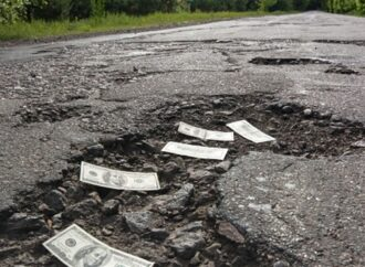 В Одесі на будівництво доріг дадуть мільйон фірмі, яка підозрюється в розтраті бюджетних коштів