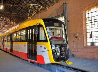 """Парк электротранспорта Одессы пополнится шестью новыми трамваями """"Одиссей"""""""