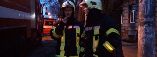 В Одессе горел жилой дом: восемь детей успели выскочить на улицу