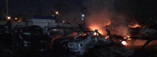 Что произошло в Одессе 10 февраля: возвращение директора Одесского худмузея и 20 сгоревших автомобилей на штрафплощадке