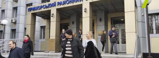 Угроза взрыва гранатой: судей Приморского райсуда Одессы взяли в заложники (обновляется)