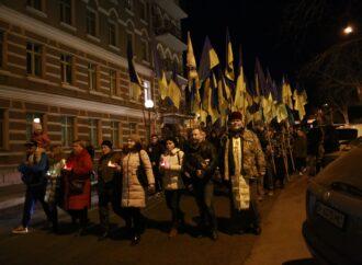 В Одессе и почтили память погибших в АТО, и вспоминали афганцев