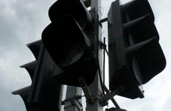 В центре Одессы не работает светофор