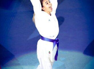 Одесская каратистка Анжелика Терлюга пробилась на Олимпиаду