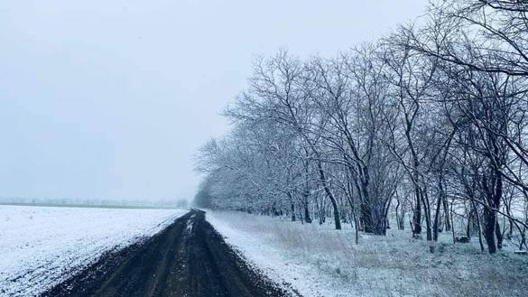 В Одесскую область вернулась зима: фото и видео живописных заснеженных мест