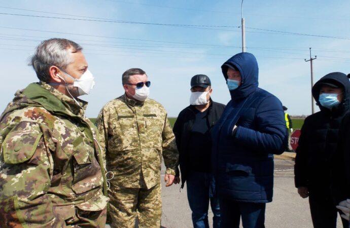 """В Одесской области на въездах оборудуют """"карантинные"""" блокпосты: где и зачем"""