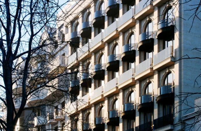В исторической части Одессы продают квартиры в высотке, которую еще не построили