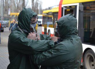 В Одесі комунальники показали, як дезинфікують громадський транспорт (фото)