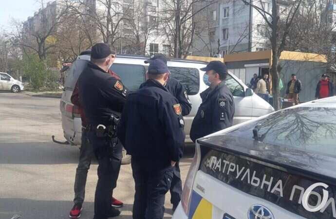 Стрельба в Одессе: стычка возникла из-за портрета Сталина