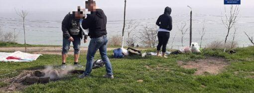Одеські поліцейські закликали містян дотримуватися умов карантину (відео)