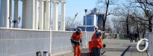 В Одессе ремонтируют Тещин мост
