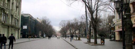 День седьмой одесского карантина: воскресная Дерибасовская (фото)