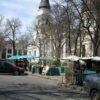 Соборная площадь в Одессе: пустынная жизнь на карантине (фото)