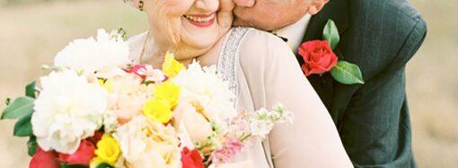 В Одеській області найстаршому нареченому – 93 роки, нареченій – 83