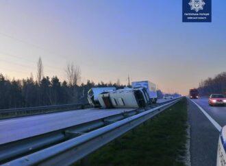 Масштабная авария на трассе Одесса-Киев: грузовик врезался в автобусы