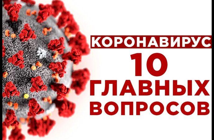 10 вопросов о коронавирусе: что надо знать?
