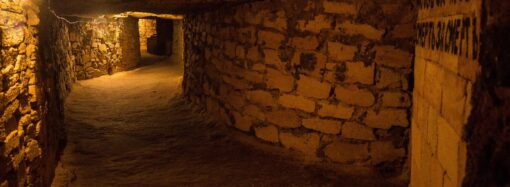 В Одессе обустроят несколько новых входов в городские катакомбы