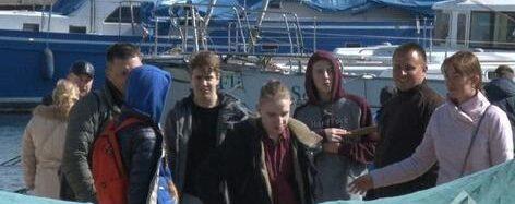 В Одессе активисты митинговали против продажи яхт-клуба (фото)