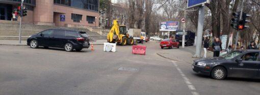 В Приморском районе Одессы из-за ремонта перекрыли улицу