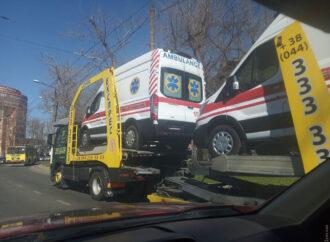 В Одессу доставили партию машин скорой помощи (фото)