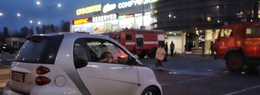 Официально: при пожаре в одесском торговом центре никто не пострадал