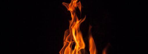 В центре Одессы горело кафе
