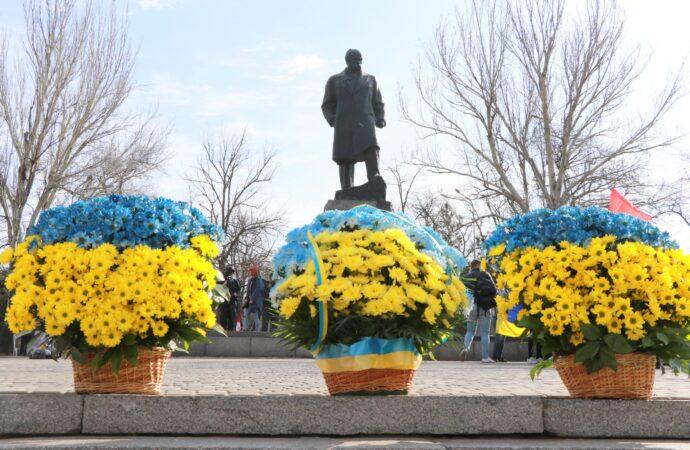 Одесситы почтили память Тараса Шевченко