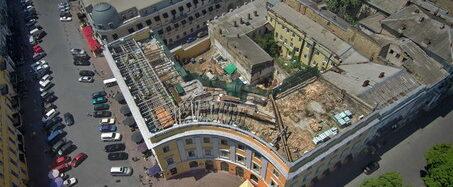 Памятник архитектуры на Приморском бульваре фактически уничтожают