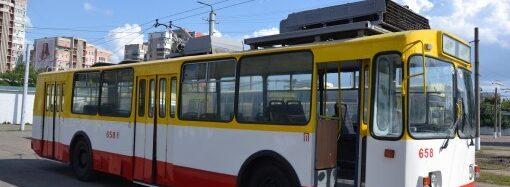 В Одессе снова начали ходить троллейбусы по маршруту №2
