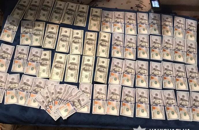 """Одесский прокурор """"попался"""" на взятке 25 тысяч долларов"""